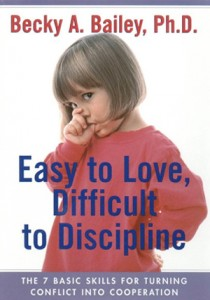 Discipline with Love to Resolve Conflict